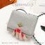 กระเป๋าสตางค์ผู้หญิง ใบสั้น รุ่น DIAMONDS-S สีดำ thumbnail 16
