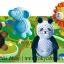 พร้อมส่ง ** DIY Craft Kuru Kuru Kururu [Zoo] ชุดม้วนกระดาษลูกฟูก รูปสวนสัตว์ thumbnail 2