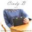 กระเป๋าสตางค์ผู้หญิง ทรงถุง สีแดง รุ่น CINDY-B thumbnail 13