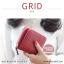 กระเป๋าสตางค์ผู้หญิง GRID สีเขียวเข้ม thumbnail 12