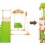พร้อมส่ง [[สินค้ามือสอง]] ** Kids Park 4 in 1 ชิงช้า+ปีนป่าย+สไลเดอร์+โหนบาร์ ชุดใหญ่ พับเก็บได้ง่ายๆ (ค่าส่งพัสดุ 305 / ขนส่งเอกชน 500 ) thumbnail 2