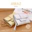 กระเป๋าสตางค์ผู้หญิง ขนาดกลาง รุ่น AMAZ สีม่วง thumbnail 17