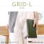 กระเป๋าสตางค์ผู้หญิง รุ่น GRID-L สีชมพูเข้ม ใบยาว สองซิป thumbnail 14