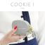 กระเป๋าสตางค์ ใส่เหรียญ รุ่น COOKIE I สีดำ thumbnail 11