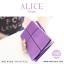 กระเป๋าสตางค์ผู้หญิง ทรงถุง กระเป๋าคลัทช์ สีชมพู รุ่น ALICE thumbnail 23
