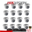 Hikvision (( Camera Set 16 )) DS-2CE56C0T-IR x 16, DS-7216HQHI-F2/N x 1 thumbnail 1