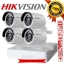 Hikvision ((Camera Set 4)) (DS-2CE16C0T-IR x 4, DS-7104HGHI-F1 x 1) (720p) thumbnail 1