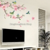 "Wall sticker ตกแต่งผนัง หมวดต้นไม้ ""Pink Branch Blossom"" ความสูง 85 cm ความกว้าง 170 cm"