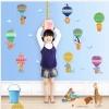 """สติ๊กเกอร์ติดผนังตกแต่งบ้าน """"ที่วัดส่วนสูงสำหรับเด็กบอลลูน"""" สเกลเริ่มต้น 50 cm ถึง 180 cm"""