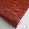 """วอลเปเปอร์ ลายอิฐ """"ลายอิฐ สีน้ำตาลแดง"""" หน้ากว้าง 122 cm เมตรละ 250 บาท"""