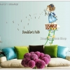 "Wall Sticker สติ๊กเกอร์ตกแต่งบ้าน ห้องเด็ก ""Dandelion's Faith"" ความสูง 80 cm กว้าง 85 cm"