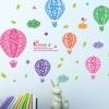 """สติ๊กเกอร์ติดผนังตกแต่งบ้าน """"Balloon Dream บอลลูน"""" ความสูง 47 cm ยาว 62 cm"""