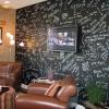 สติ๊กเกอร์กระดานดำ Blackboard Sticker ขนาดหน้ากว้าง 120 cm เมตรละ 300 บาท (ขั้นต่ำ 2m)