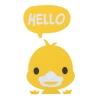 """สติ๊กเกอร์ติดปลั๊กไฟ """"Happy Duck"""""""