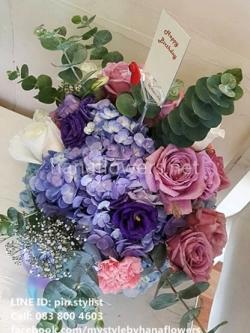 แจกันดอกไม้สด-VA15002
