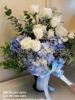 แจกันดอกไม้สด-VA15001