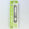 สายชาร์จ 2 in 1 GOLF Micro USB adroid/iPhone 6,5s,5c,5 สีขาว