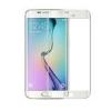 ฟิล์มกระจก Samsung S6 Edge เต็มจอ สีขาว