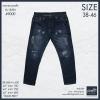 """38-50"""" กางเกงยีนส์ ขากระบอกเล็ก #9000 (ผ้าไม่ยืด)"""
