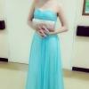 ชุดไปงานแต่งงาน สีฟ้า