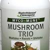 เห็ด 3 สายพันธุ์ Nutritional Concepts Myco-Mun Mushroom Trio Maitake, Reishi, Shiitake 60 แคปซูล