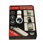 เลนส์ Lens 3 in 1 Lieqi LQ-001 สีเงิน