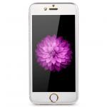 ฟิล์มกระจกนิรภัย สำหรับ iPhone 6 Remax Metal+Glass เต็มจอ สีเงิน (ขอบ Titanium)