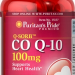 ลดริ้วรอย Puritan's Pride Co Q-10 (โคเอ็นไซม์ คิวเท็น) ขนาด 100 mg จำนวน 240 เม็ด