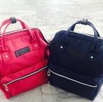 กระเป๋าเป้3411 (สีแดง+สีกรม)