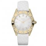 นาฬิกาข้อมือหญิง DKNY Model NY8826 White Python Wide Strap (ลด20-35%) *พร้อมส่ง*