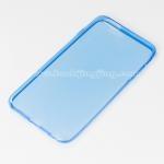 เคส ซิลิโคนใส iPhone 6 Silicone soft case 0.6 mm. สีฟ้า