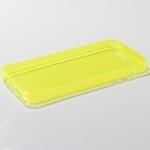 เคส iPhone 5/5S ซิลิโคนใส หนา 0.6 มม. สีเหลือง