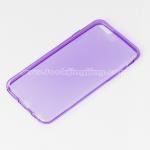 เคส ซิลิโคนใส iPhone 6 Silicone soft case 0.6 mm. สีม่วง
