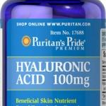 ผิวเนียนเรียบ ชุ่มชื่น ลดริ้วรอย Hyaluronic Acid 100mg / 60 Capsules