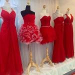 เช่าชุดไปงานเลี้ยง ไปงานแต่ง สีแดง