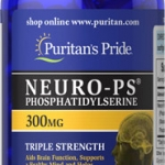 บำรุงสมองและประสาท Neuro-PS 300 mg (Phosphatidylserine) ขนาด 30 Softgels