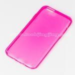 เคส ซิลิโคนใส iPhone 6 Silicone soft case 0.6 mm. สีชมพูเข้ม