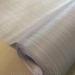 """วอลล์เปเปอร์ ติดผนังมีกาวในตัว """"Gray and Metalic Plain Stripped"""" หน้ากว้าง 122 cm แบ่งขายเมตรละ 250 บาท"""