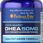 ชะลอความแก่ ปรับสมดุลร่างกาย Puritan's Pride DHEA 50 mg ขนาด 50 เม็ด