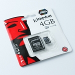 Kingston Memory Micro SD Card Class 4 - 4 GB