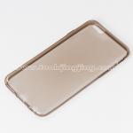 เคส ซิลิโคนใส iPhone 6 Silicone soft case 0.6 mm. สีเทา