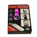 เลนส์ Lens 3 in 1 Lieqi LQ-001 สีชมพู