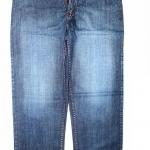"""40-54""""กางเกงขายาว ผู้ชายอ้วน #3645 ทรงกระบอก ผ้ายีนส์"""
