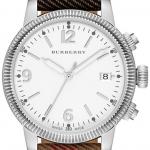 Burberry Classic Check Strap Ladies Watch BU7824 *พร้อมส่ง*