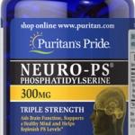 บำรุงสมองและประสาท Neuro-PS 300 mg (Phosphatidylserine) ขนาด 60 Softgels