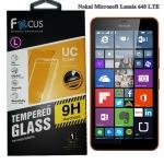 ฟิล์มกระจกนิรภัยโฟกัส Nokai Lumia 640 LTE