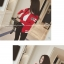 เสื้อกันหนาว ลายเบสบอล โทนขาวแดง (พรีออร์เดอร์) thumbnail 2