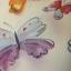 """สติ๊กเกอร์ฝ้าติดกระจกแบบมีกาวในตัว """"Wonderful Butterfly"""" หน้ากว้าง 90 cm ตัดแบ่งขายเมตรละ 189 บาท ขั้นต่ำ 3m thumbnail 2"""
