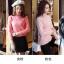 PRE เสื้อไหมพรม คอปีนพับ สไตล์เกาหลี thumbnail 7