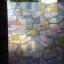 """PVC สูญญากาศติดกระจก """"Colorful Shape"""" หน้ากว้าง 90 cm ราคาต่อเมตร 270 บาท thumbnail 1"""